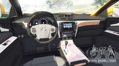 GTA 5 Toyota Camry V50 right side view