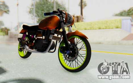 Honda CG125 Roadrace for GTA San Andreas right view