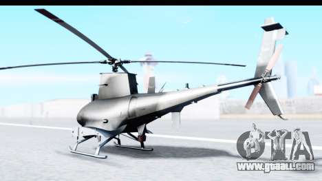 Northrop Grumman MQ-8B Fire Scout for GTA San Andreas left view