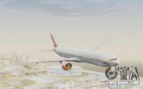 Boeing 777-300ER Virgin Australia v2 for GTA San Andreas