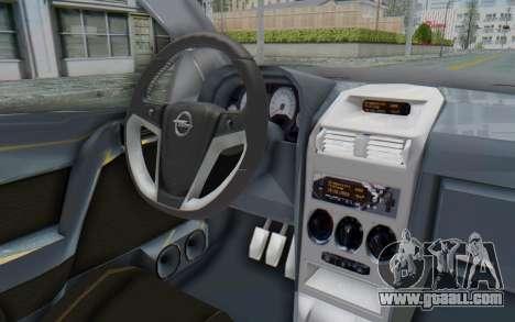 Opel Bertone for GTA San Andreas inner view