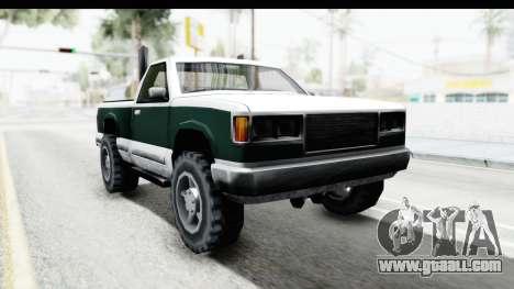 Yosemite Truck for GTA San Andreas