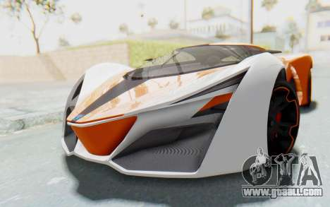 GTA 5 Grotti Prototipo v1 IVF for GTA San Andreas