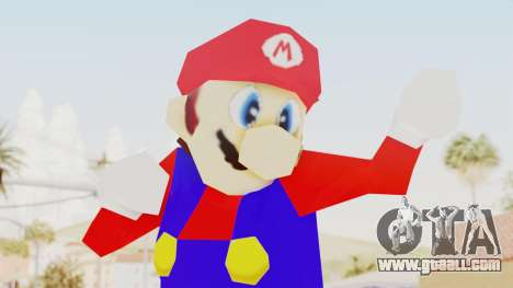 Mario for GTA San Andreas