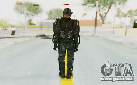 CoD Advanced Warfare ATLAS Soldier 1 for GTA San Andreas third screenshot