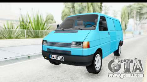 Volkswagen T4 for GTA San Andreas right view