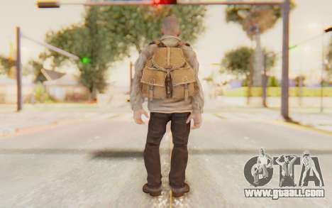 COD BO Russian Soldier v2 for GTA San Andreas third screenshot