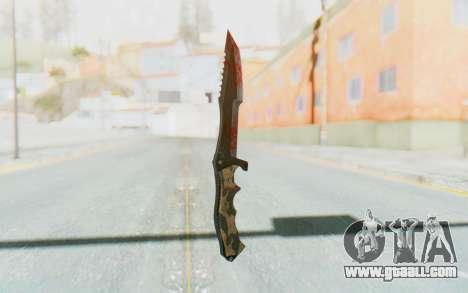 Huntsman Knife for GTA San Andreas second screenshot