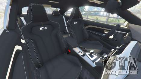GTA 5 BMW M4 2015 v0.01 front right side view