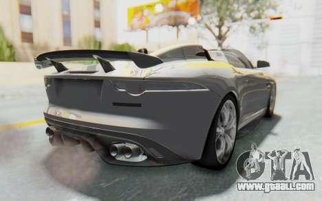 Jaguar F-Type Project 7 for GTA San Andreas