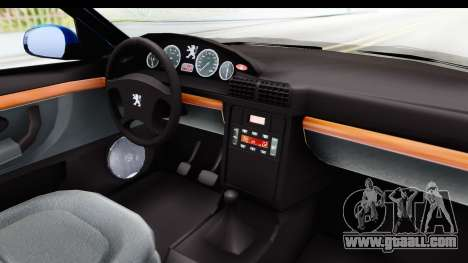 Peugeot 406 Cabrio Beta 0.8.3 for GTA San Andreas inner view