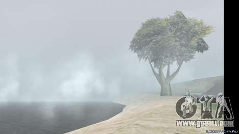 The change of weather and time for GTA San Andreas