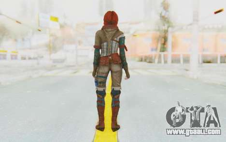 The Witcher 3 - Triss Merigold WildHunt Outfit for GTA San Andreas third screenshot