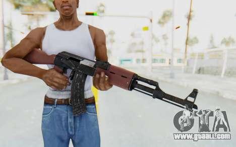 GTA 5 Shrewsbury Assault Rifle for GTA San Andreas