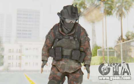 COD MW2 Russian Paratrooper v1 for GTA San Andreas