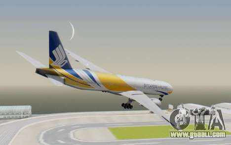 Boeing 777-300ER Singapore Airlines v2 for GTA San Andreas left view