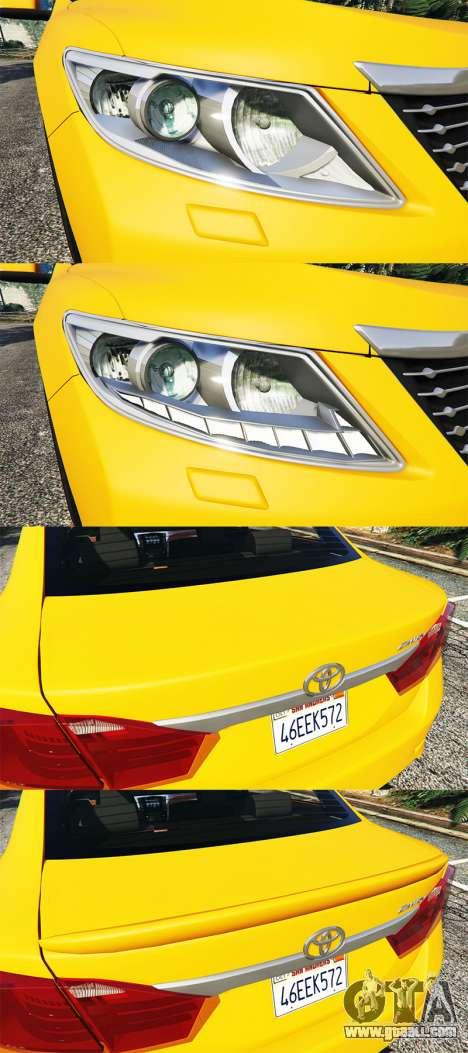 GTA 5 Toyota Camry V50 steering wheel