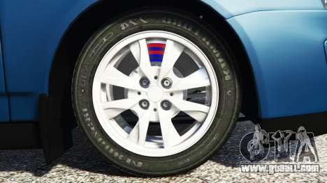 GTA 5 Lada Priora Sport Coupe v0.1 rear right side view