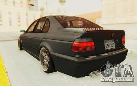 BMW M5 E39 M-Tech USDM for GTA San Andreas left view