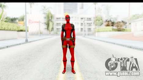 Marvel Heroes - Lady Deadpool for GTA San Andreas second screenshot