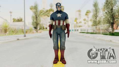 Captain America Super Soldier Classic for GTA San Andreas second screenshot