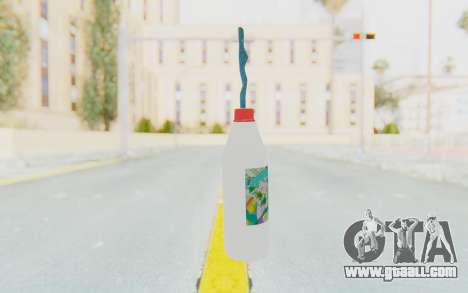 Hatsuni Miku Molotov for GTA San Andreas second screenshot
