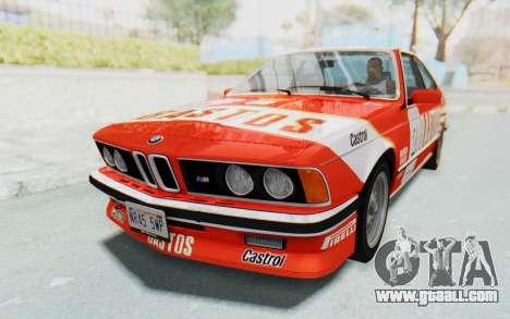 BMW M635 CSi (E24) 1984 IVF PJ3 for GTA San Andreas engine