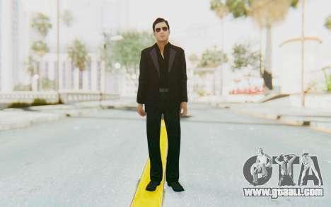 Mafia 2 - Vito Scaletta Madman Suit Black for GTA San Andreas second screenshot