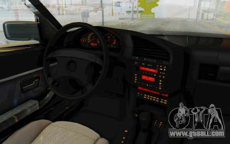 BMW 325tds E36 for GTA San Andreas inner view