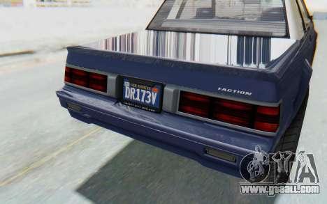 GTA 5 Willard Faction Custom Donk v3 IVF for GTA San Andreas side view