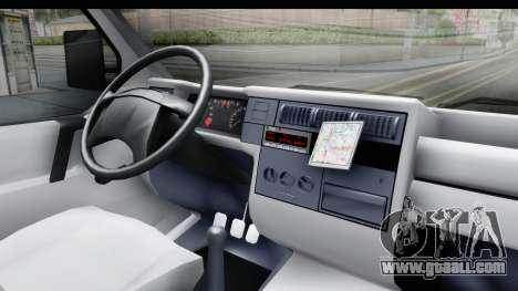 Volkswagen T4 for GTA San Andreas inner view