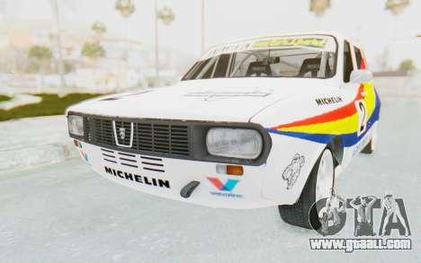 Dacia 1300 Rally for GTA San Andreas right view