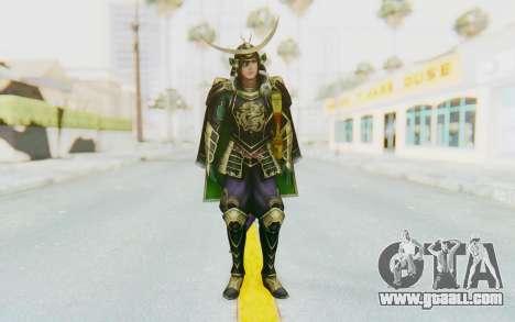 Sengoku Musou 4 - Date Masamune for GTA San Andreas second screenshot