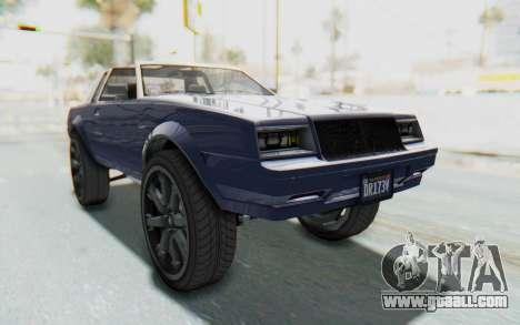 GTA 5 Willard Faction Custom Donk v3 IVF for GTA San Andreas right view