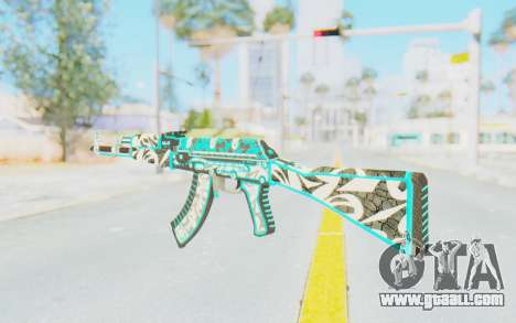 CS:GO - AK-47 Front Side Misty for GTA San Andreas second screenshot