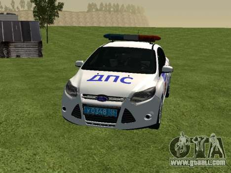 Ford Focus ДПС for GTA San Andreas