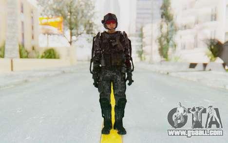 CoD Advanced Warfare ATLAS Soldier 1 for GTA San Andreas second screenshot
