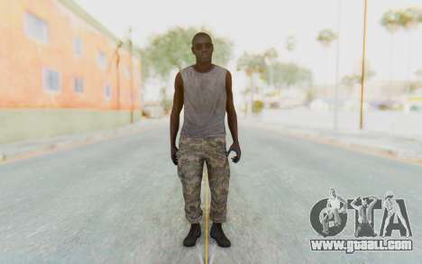 CoD MW3 Africa Militia v5 for GTA San Andreas second screenshot