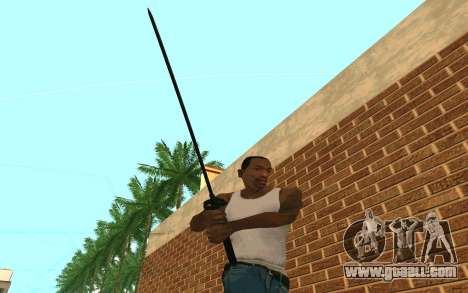 Sword of Blades for GTA San Andreas forth screenshot
