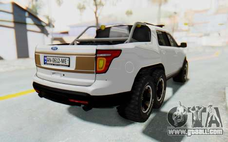 Ford Explorer Pickup for GTA San Andreas left view