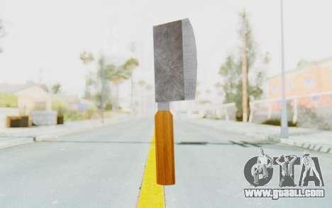 Butcher Knife for GTA San Andreas