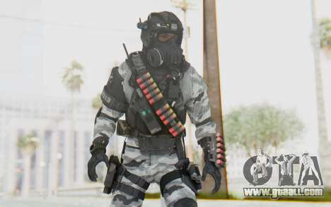 Federation Elite Shotgun Arctic for GTA San Andreas