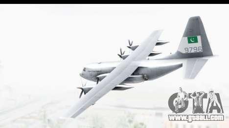 C-130 Pakistan for GTA San Andreas left view