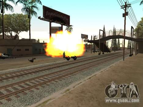 Blast machines for GTA San Andreas second screenshot