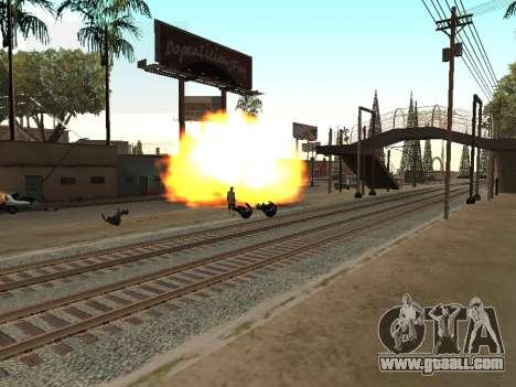 Blast machines for GTA San Andreas second screenshot