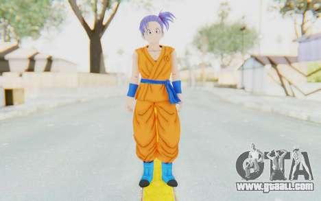 Dragon Ball Xenoverse Female Saiyan SJ for GTA San Andreas second screenshot
