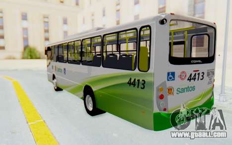 Comil Svelto Piracicabana Santos for GTA San Andreas back left view