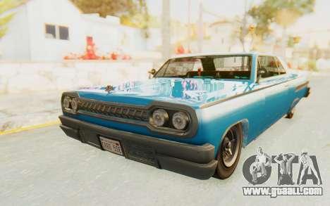 GTA 5 Declasse Voodoo PJ for GTA San Andreas