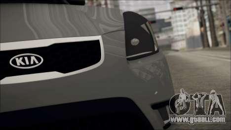 Kia Rio for GTA San Andreas right view
