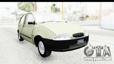 Ford Fiesta for GTA San Andreas right view